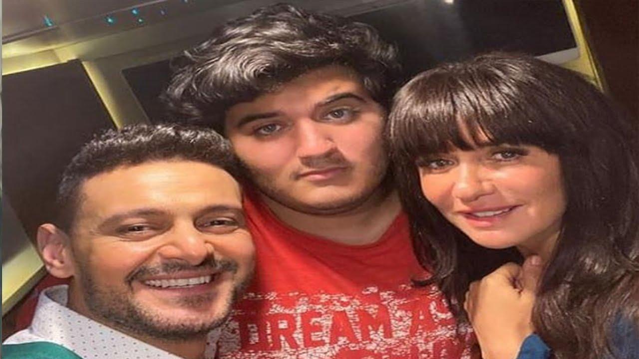 الفنان رامز جلال يتنمر على بن غاده عادل والمفاجاه ماذا كان رد فعل ابنها  اتجاه رامز جلال !!
