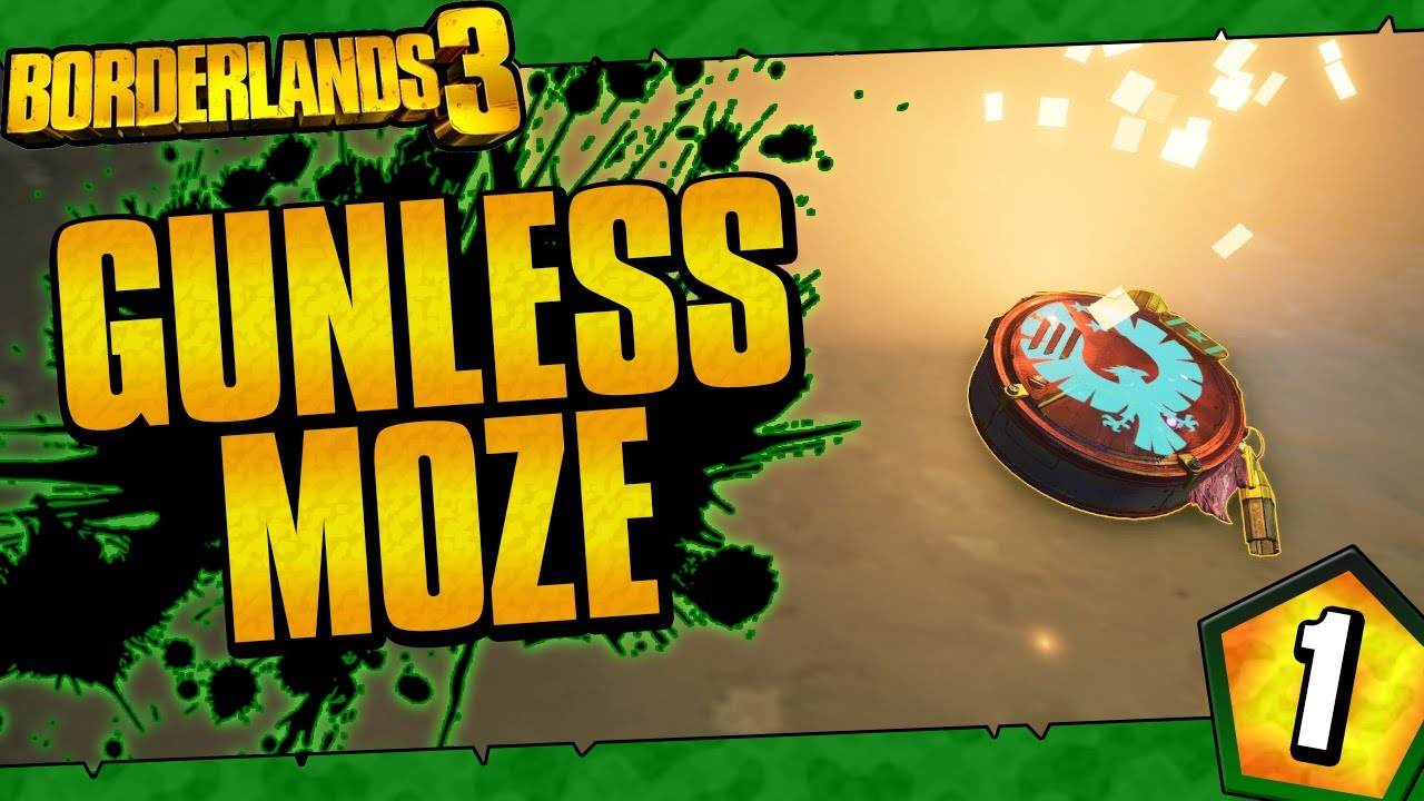 Borderlands 3 | Gunless Moze Funny Moments And Drops | Day #1 thumbnail