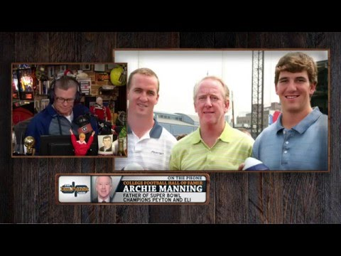 Archie Manning talks about the media during Peyton