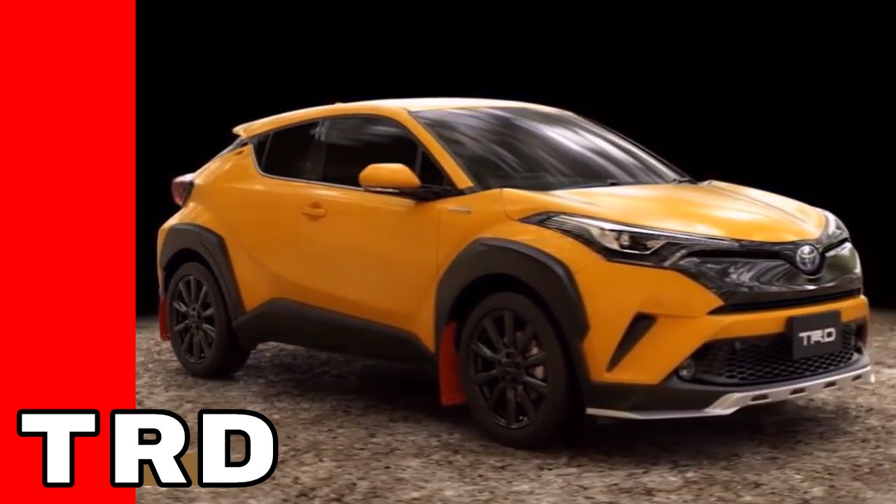 2018 Toyota C-HR TRD Parts - YouTube