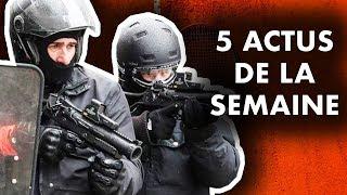 VIOLENCES POLICIÈRES, BREXIT, MATCHS TRUQUÉS, GRAND DÉBAT, ENVIRONNEMENT... 5 actus de la semaine