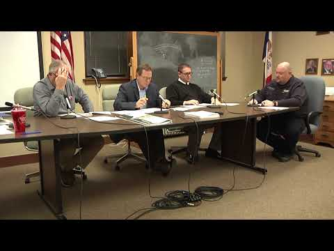 Mahaska County Board Supervisors Meeting for March 5, 2018