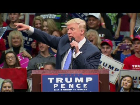 Donald Trump taunts the 'dishonest' media