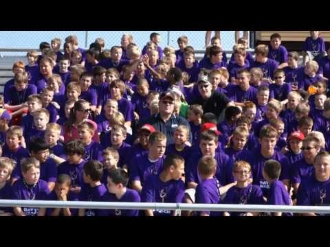 Chad Greenway Day to REACH Football Camp 2013