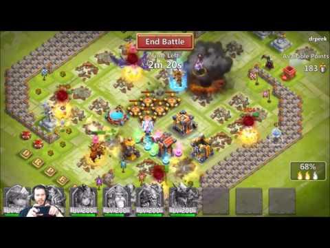 Guild Wars Peeking In on My Friend New Guild Castle Clash