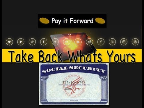 TAKE BACK WHAT'S RIGHTFULLY YOURS (SOCIAL SECURITY NUMBER, BIRTH CERTIFICATE, TRUST FUND)