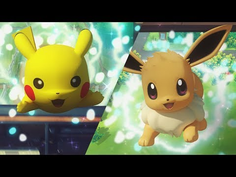 Pokemon Let's Go! Eevee with Pokeball Plus - Video