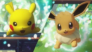 Pokmon: Lets Go, Pikachu! and Pokmon: Lets Go, Eevee! Trailer