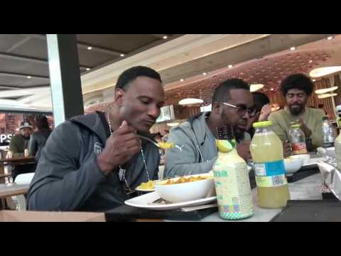 Gervonta And Team Eating After Weigh In  EsNews Boxing