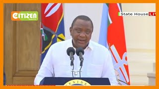 [Full Speech] President Uhuru Kenyatta issues new COVID-19 containment measures