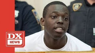 Bobby shmurda still has over 20 months left on his prison sentence, but he seems to be handling it as well one possibly could imagine. leslie pollard, shm...
