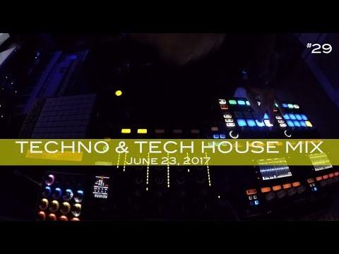 Techno Tech House Mix Deep Underground House Dance June 23,  2017 60 Minutes
