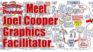 How to draw live in front of people! - with Joel Cooper - Graphics Facilitator