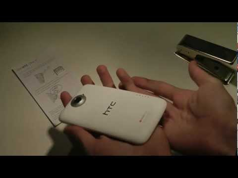 HTC One X - How To Insert Sim Card