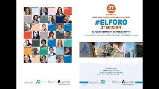 Presentación de la 2ª Edición de #ElForo