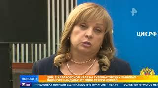 Итоги второго тура выборов губернатора подводят в двух регионах России