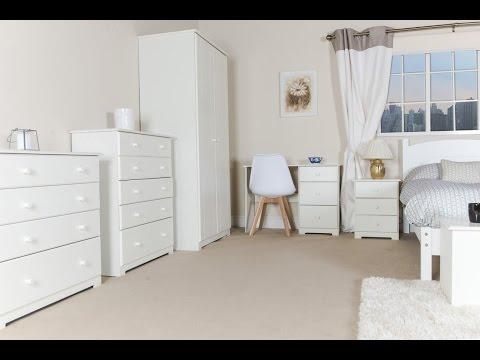 White Pine Wardrobe with Mirror Ideas