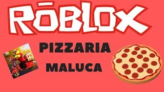 Working at Pizzeria-ROBLOX
