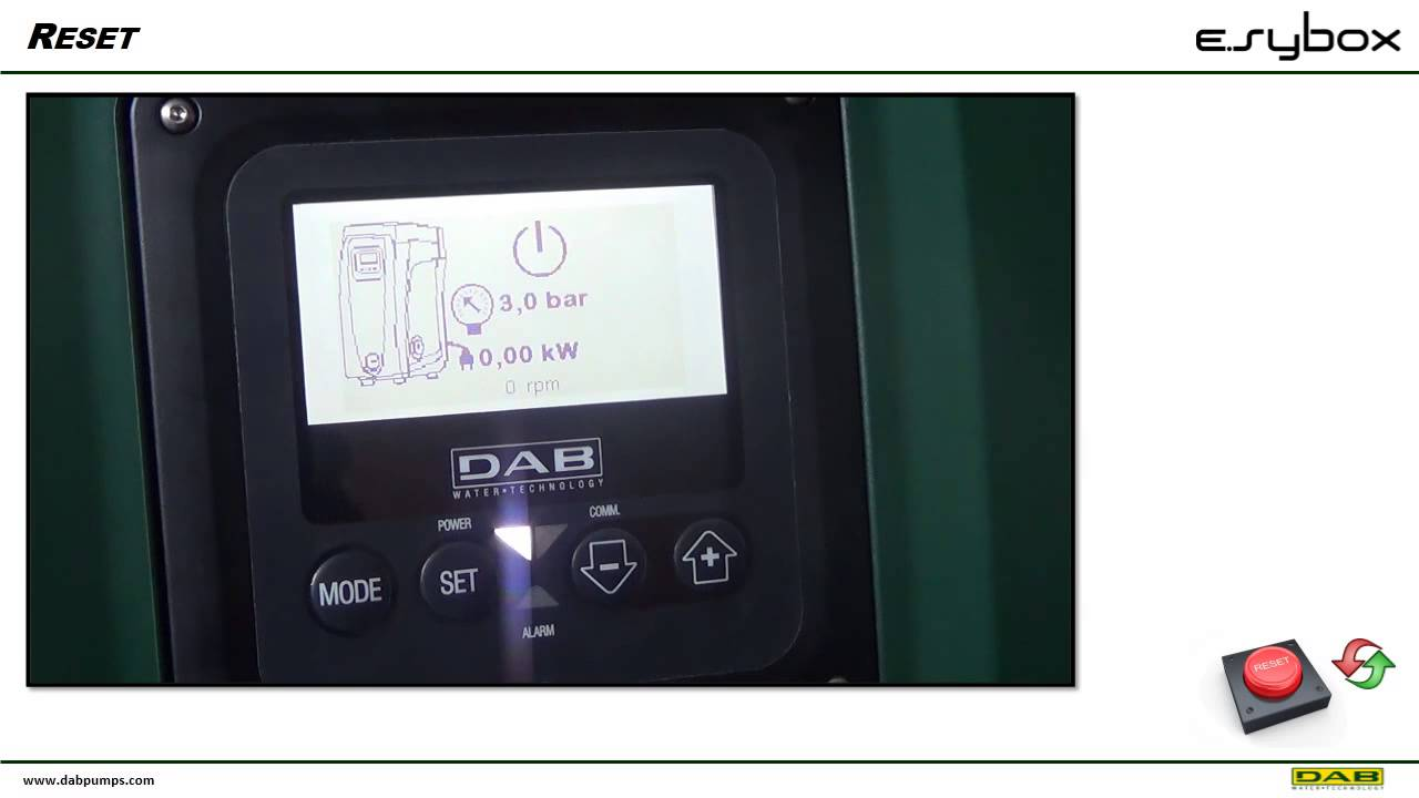 E. Syboxmini is the dab compact automatic booster system for the water supply of a single dwelling. E. Sybox mini guarantees the comfort of constant pressure.
