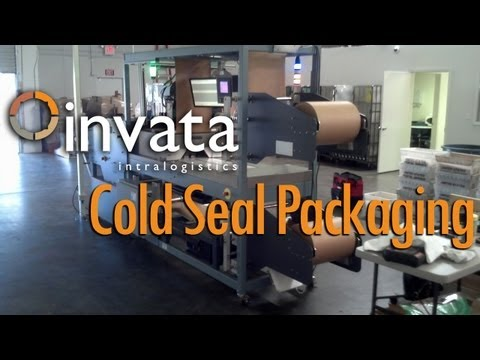 Cold Seal Packaging Automation | Invata Intralogistics