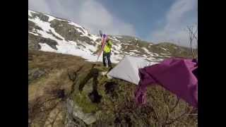 DIY FREERIDE CHALLENGE at Gullfjellet     /Spring Skiing in Norway