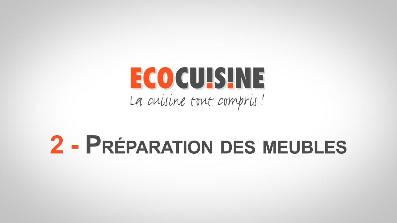 2 Preparation Des Meubles Monter Sa Cuisine Soi Meme Youtube