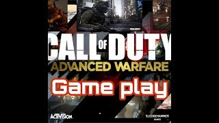 Game Play Of Call Of Duty Advance Warfare...  For PC