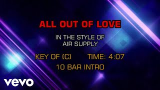 Air Supply All Out Of Love Karaoke.mp3