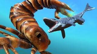 NEW GIANT SCORPION CREATURE POISONS MOSASAURUS! - Feed and Grow Fish - Part 81 | Pungence