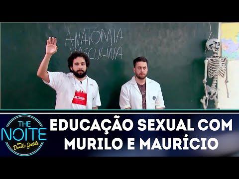 Educação Sexual com Murilo e Maurício - Ep: 1  The Noite 290319