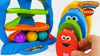 Aprende los Colores - Video Educativo para Niños! Sesame Street y Lucas