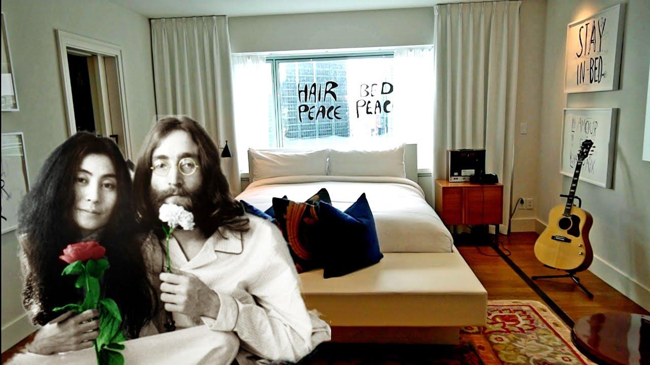 #897 Inside JOHN LENNON's 'Give Peace A Chance' Hotel