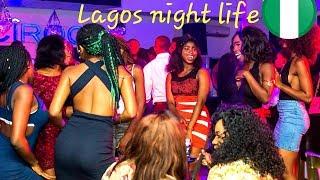 The night scene in Lagos Nigeria  Bylamitv