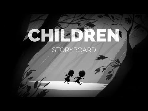 EDWARD KURCHEVSKY - CHILDREN STORYBOARD