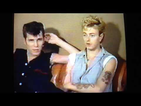 Stray Cats interview MV3 1983