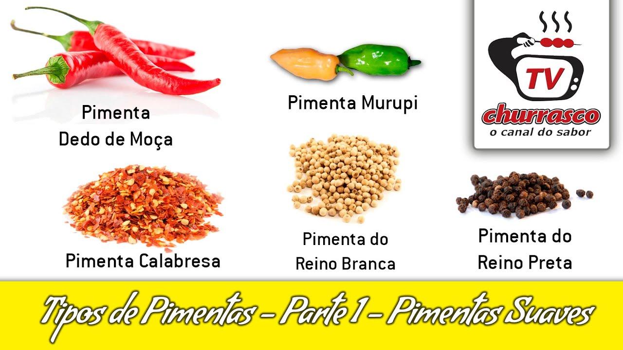 Tipos de pimentas parte 1 pimentas suaves tv - Tipos de estores para salon ...