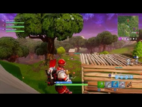First witness of the rocket ride glitch in Fortnite amazing !!