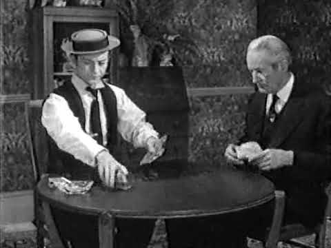 """Donald O'Connor as Buster Keaton in a scene from """"The Buster Keaton Story"""" movie"""