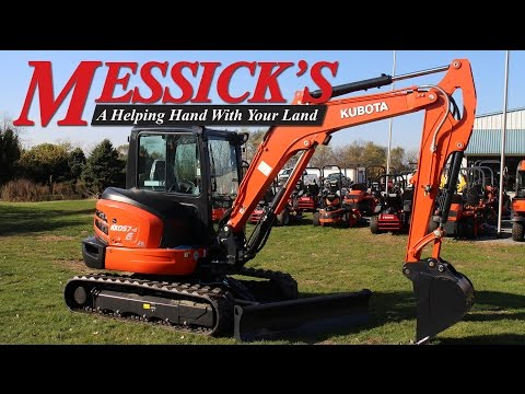 Kubota KX057-4 Excavator Overview & Operation | Messick's