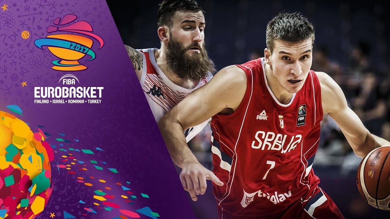 Great Britain v Serbia - Full Game - FIBA EuroBasket 2017
