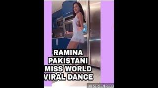 Viral danca by RAMINA Ashfaque: Pakistani miss world full dance video