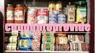 No Pantry No Problem! Cabinet Organization and Storage Solutions on a Budget! July 2016