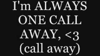 Download Danny Fernandes - One Call Away - Lyrics MP3 song and Music Video