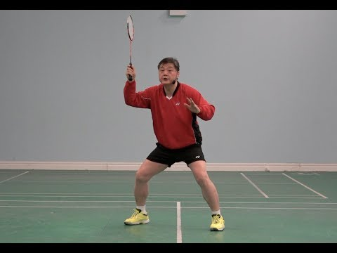Course 4. Forehand clear step type 2 (side jump steps). Lesson 1. How to do the steps (Two kinds)