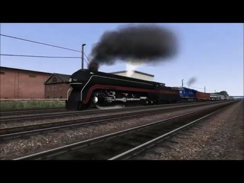 Norfolk and Western 611 Train Simulator 2016 WIP