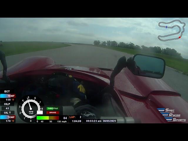 1st Place Rain Race at MSR Houston