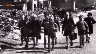 Hamburg nach dem Kriegsende (ZDF Doku) Alltag in Trümmern  Nach dem Feuersturm