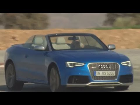 New Audi RS 5 Cabriolet 2013 Engine Start Sound Commercial Carjam TV HD
