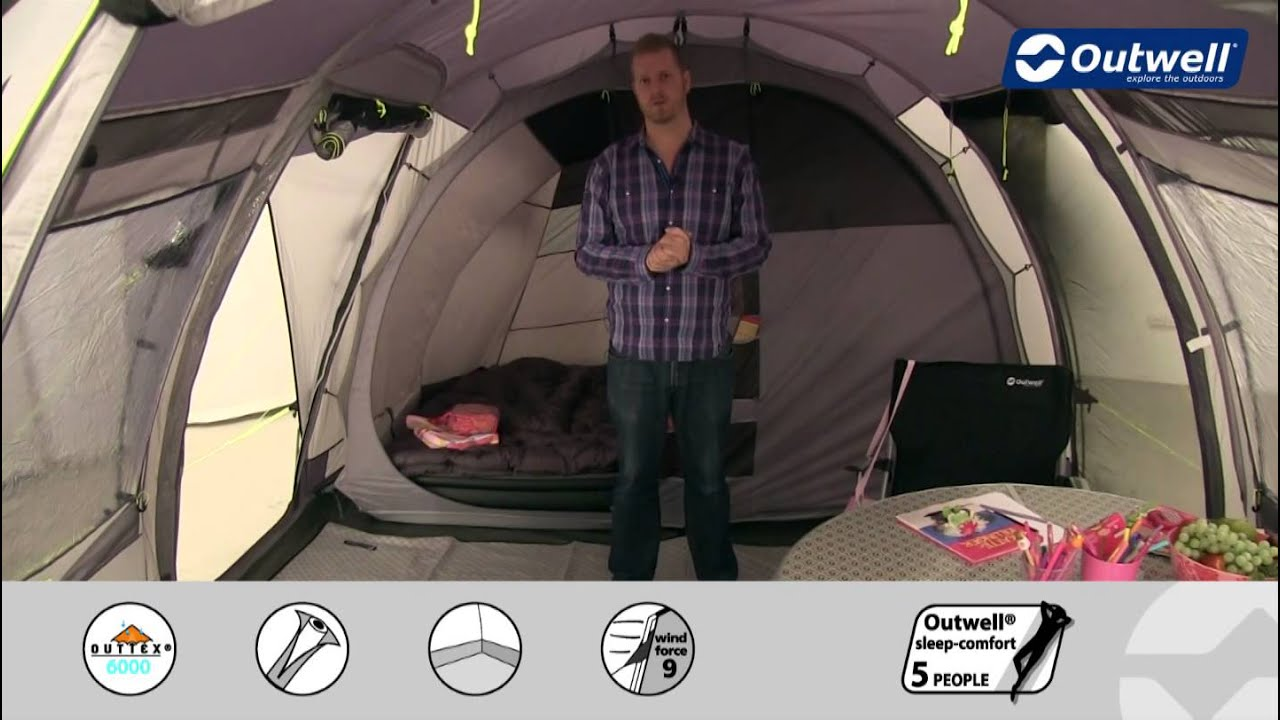 & Outwell Tent Nevada LP - 2015 | Innovative Family Camping - YouTube