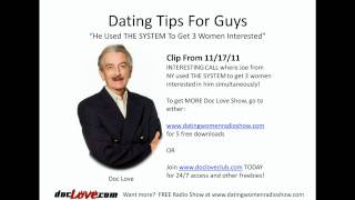 Dating Tips For Guys: Getting Women Interested